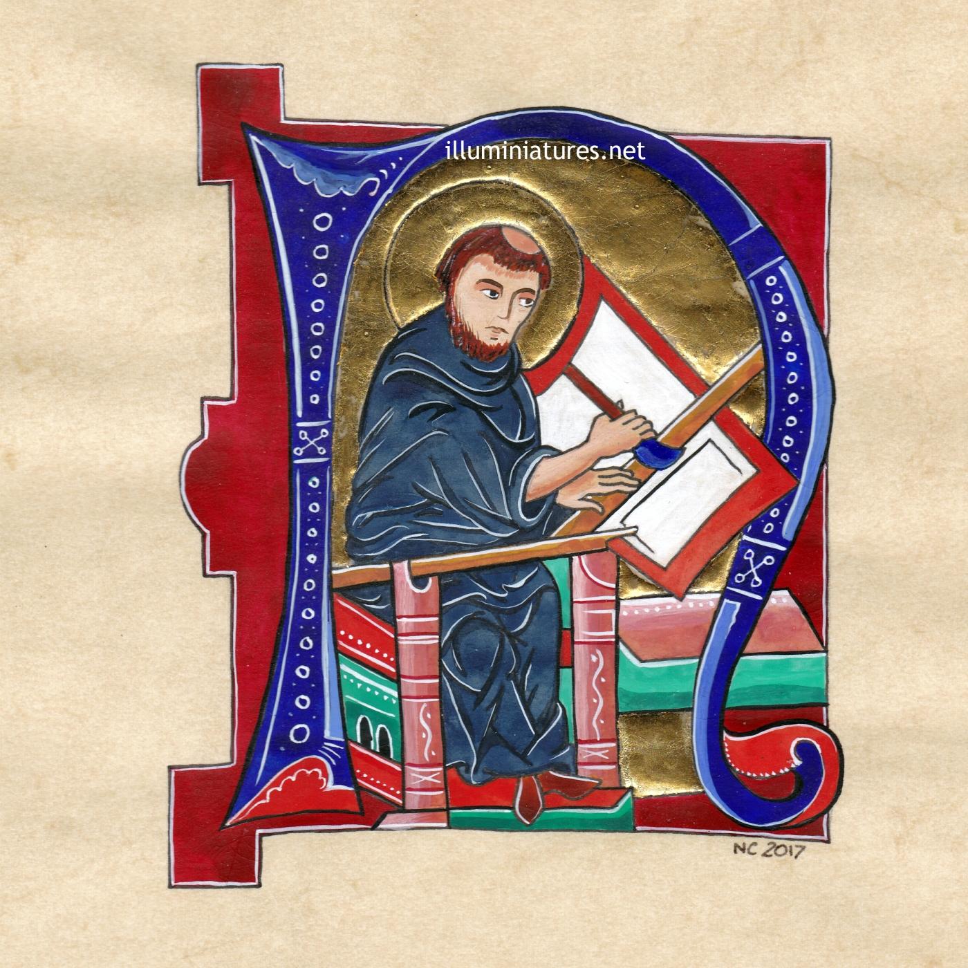 The parchment trimmer / Le rogneur de parchemin
